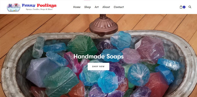 Fuzzy Feelings E-Commerce Website